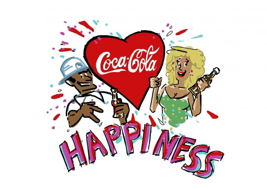 Graphic Recording Ausschnitt Coca Cola